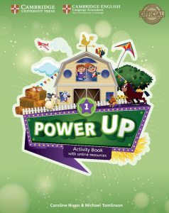 Power Up Level 1 Activity Book with online resources