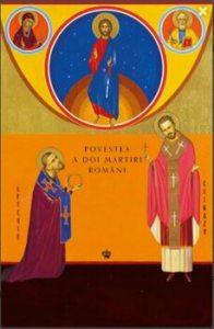Povestea a doi martiri romani