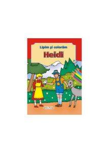 Heidi. Lipim și colorăm nr. 7