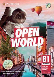 Open World Preliminary B1 Self-Study Pack (Student