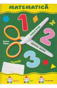 Matematica Grupa mare 5-6 ani (mapa)