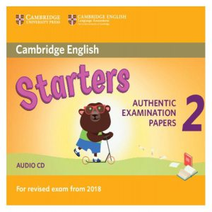 Cambridge English Young Learners 2 for revised exam from 2018 Starters. Audio CD