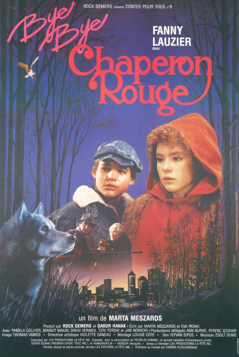 Bye bye chaperon rouge