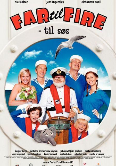 Far til fire: Til søs
